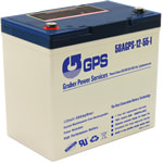 12 Volt, 55 Amp Hour (AH) Battery
