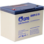 12 Volt, 75 Amp Hour (AH) Battery