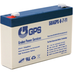 6 Volt - 7 Amp Hour Battery with F1 Terminal