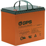 12 Volt - 55 Amp Hour (AH) Elite GPS Battery (T6)